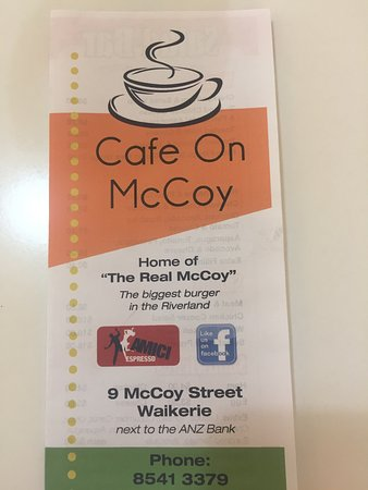 Cafe on McCoy - Surfers Gold Coast