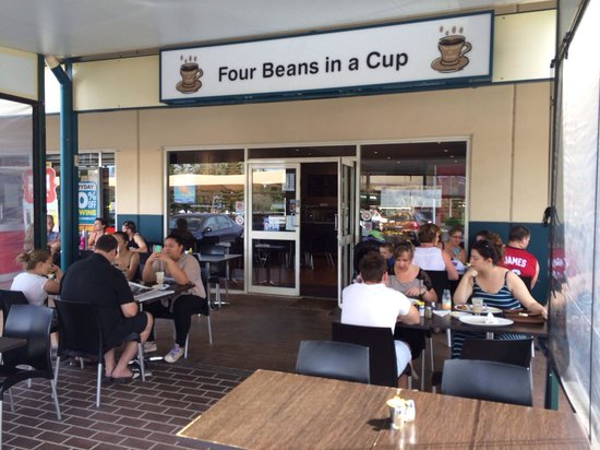 Four Beans in a Cup - Surfers Gold Coast