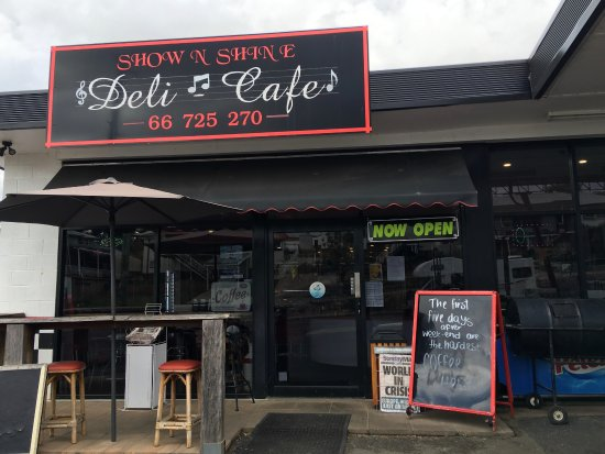 Show  Shine Deli Cafe - Surfers Gold Coast