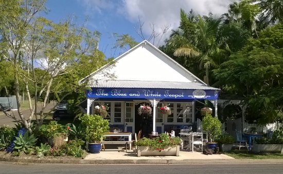 The Blue and White Teapot Cafe - Surfers Gold Coast