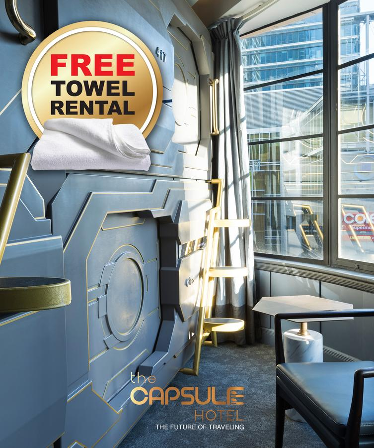 The Capsule Hotel - Surfers Paradise Gold Coast