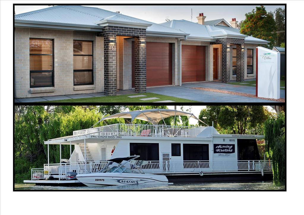 Renmark River Villas and Boats  Bedzzz - Surfers Gold Coast