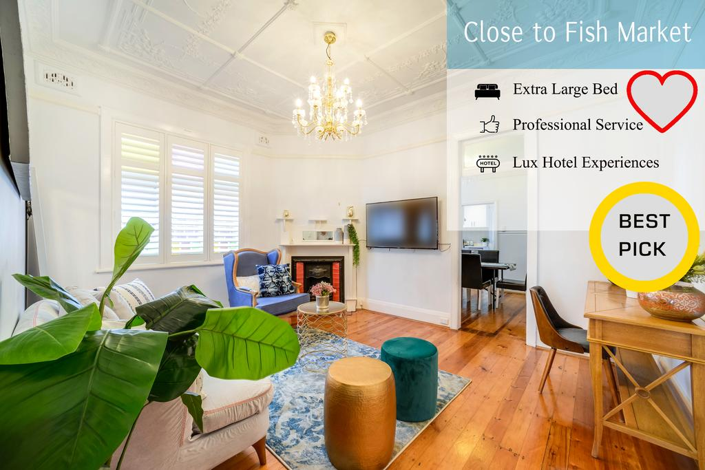 Stunning house close to Sydney Fish Market - Surfers Gold Coast