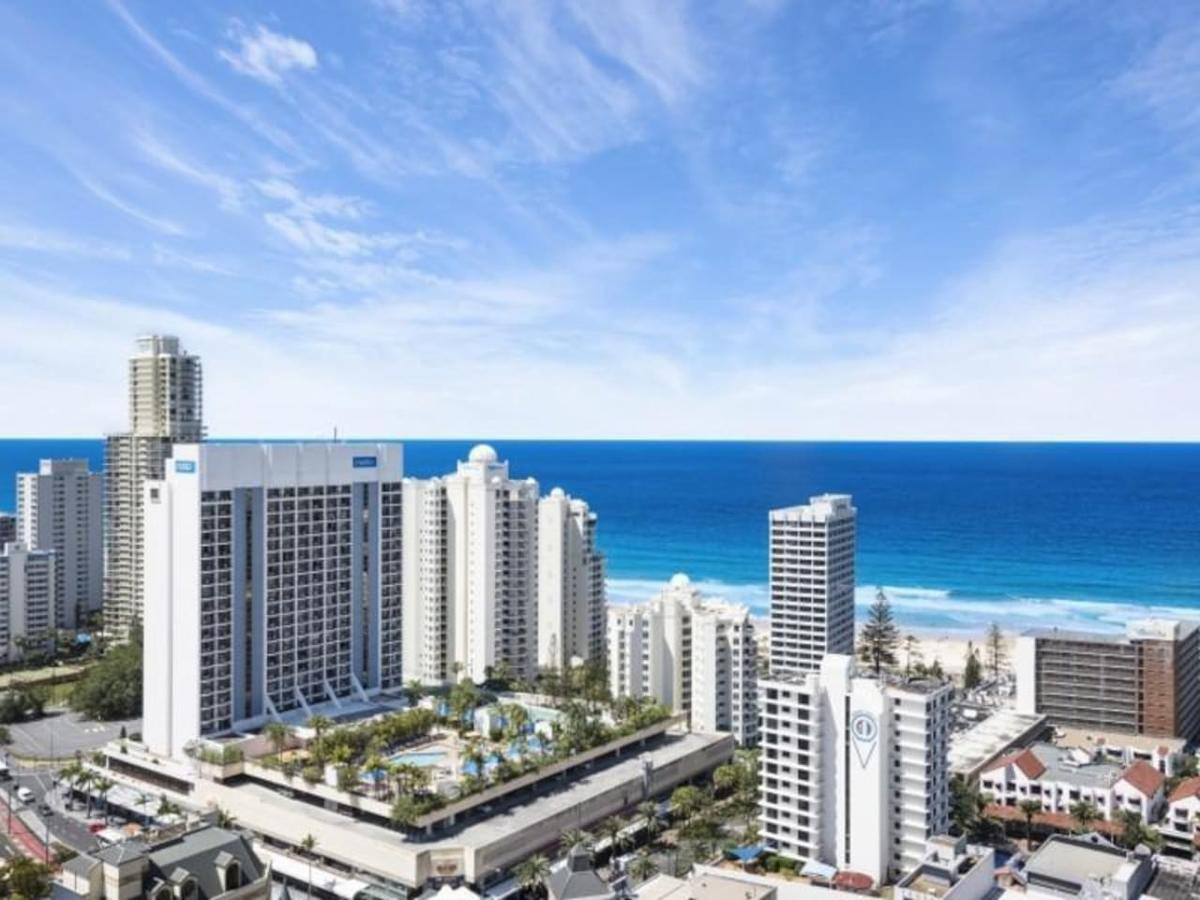 Beach Stay - Ocean & Riverview Resort Chevron Renaissance Central Surfers Paradise